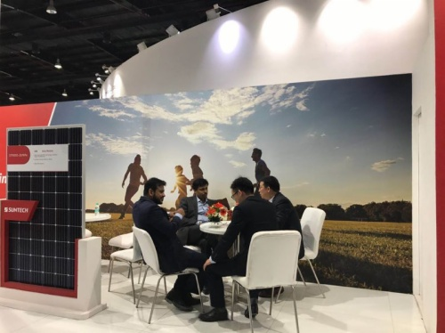 Suntech Participated in 2017 Renewable Energy India Expo
